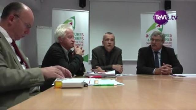 Le bio en normandie for Chambre agriculture manche
